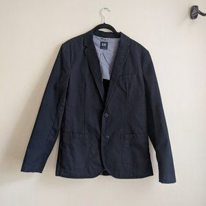 Gap Navy Slim Cut Blazer M